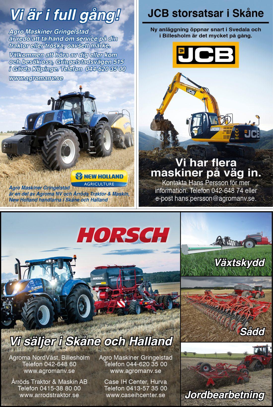 Agro Maskiner annons