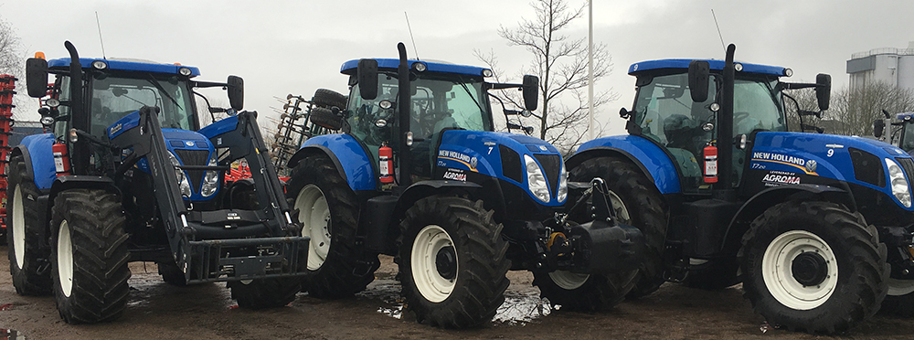 New Holland leverans